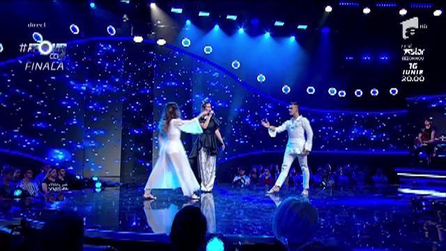"""Feli Donose feat. """"The Four"""" All Stars - """"Cine te crezi?"""" a răsunat în platoul emisiunii"""