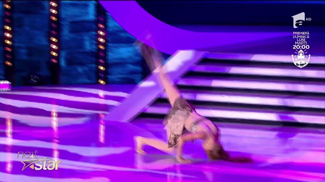 "Alexandra Marami, dans contemporan pe scena ""Next Star"""