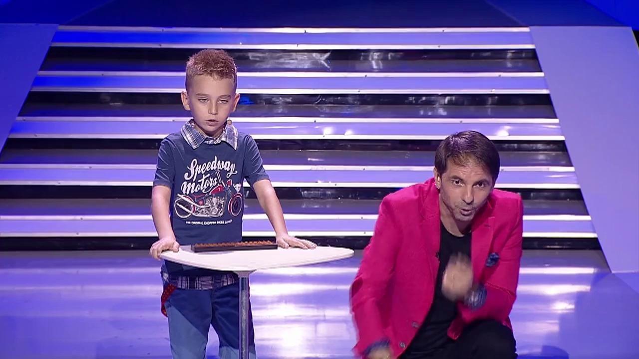 """INCREDIBIL! Mihai Dobre, un GENIU FABULOS în vârstă de 8 ani, la """"Next Star"""". A lăsat pe toată lumea cu gura căscată!"""