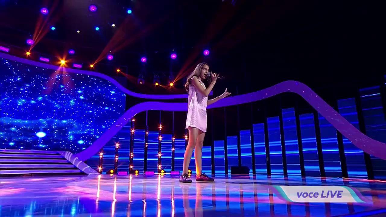 """Moment INCREDIBIL la """"Next Star""""! Ea e Melani, puștoaica de 11 ani care o eclipseasă pe Jennifer Hudson! A ridicat juriul în picioare"""