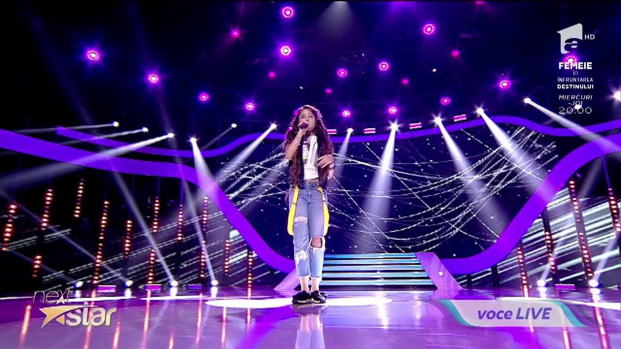 """Alina Eremia - """"Poartă-mă"""". Vezi interpretarea Raisei Ștefan la """"Next Star"""""""