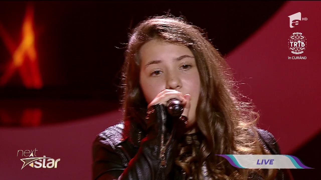 "Amy Winehouse - Valerie. Vezi cum cântă Alexandra Dumitrache, la ""Next Star""!"