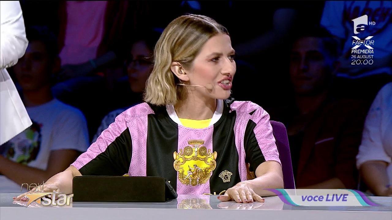 """Diana Crăcană cântă, la """"Next Star"""", melodia """"Sârba moldovenilor"""""""