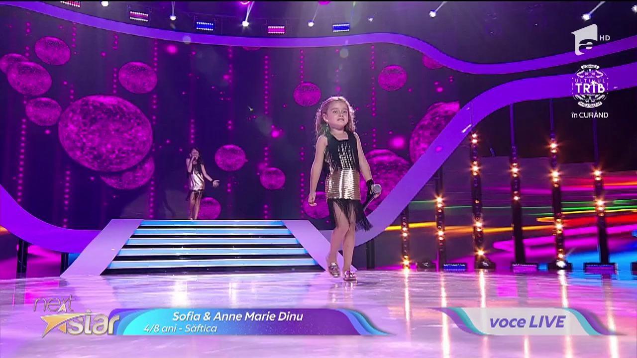 "Abba - Mamma Mia. Vezi cu cântă Sofia & Anne Marie Dinu, la ""Next Star""!"