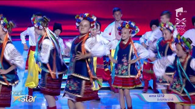 """Kozaciok, dansuri populare ucrainene pe scena """"Next Star"""""""