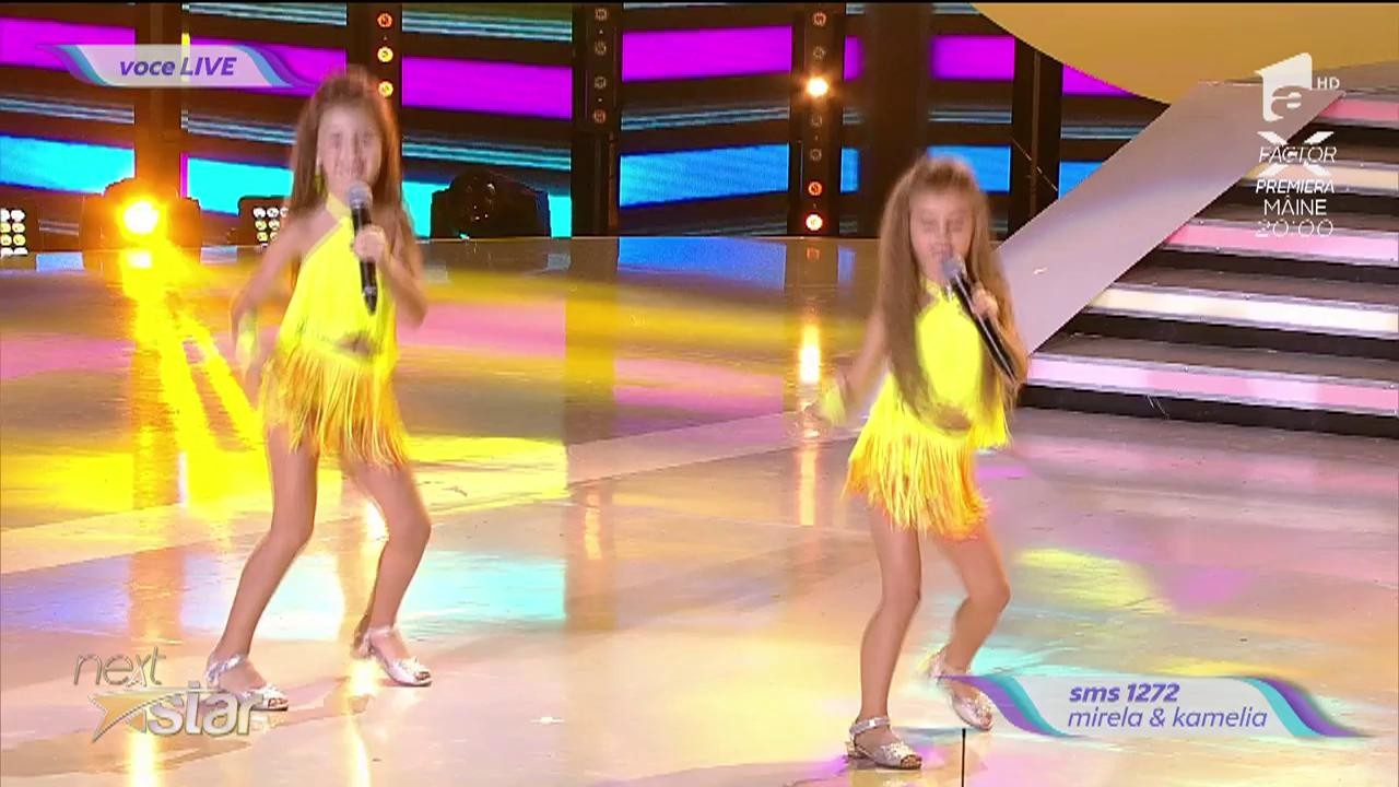 Andre - Lasă-mă papa la mare. Vezi cum canta Mirela & Kamelia, la Next Star!