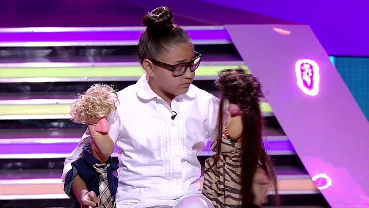 Anda Priboi, moment genial de actorie în finala Next Star