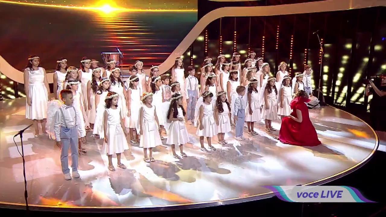 """Un ÎNGER a coborât și scena """"Next Star"""" s-a transformat într-un Rai! Puștii din grupul """"Bravissimo"""", show MAGIC!"""