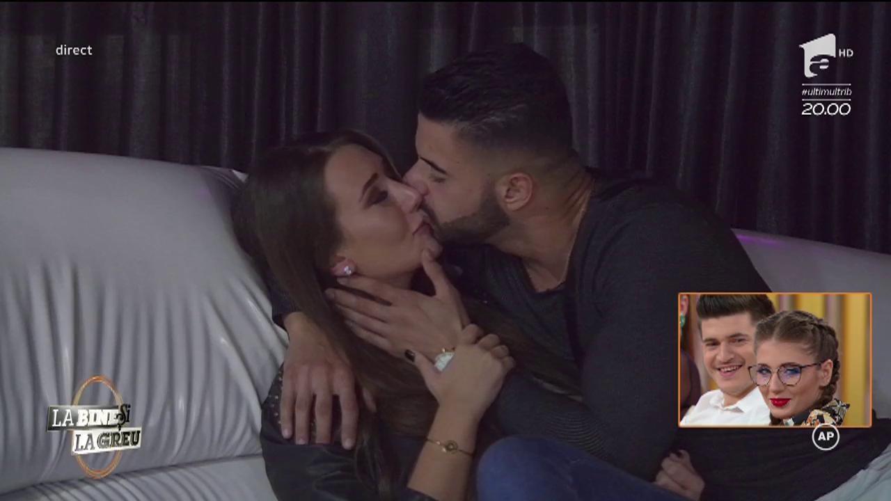 """Clipe fierbinți la """"Totul pentru dragoste""""! Antoanela și burlacul Bogdan, atingeri interzise! """"Rămâne secretul nostru"""""""