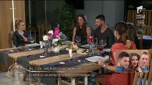 Bogdan a ales să petreacă o seară în compania Ancăi