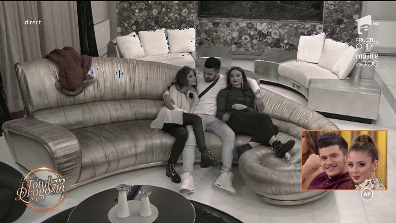 Iubitul Cristinei fierbe de nervi după sărutul ei cu burlacul Bogdan