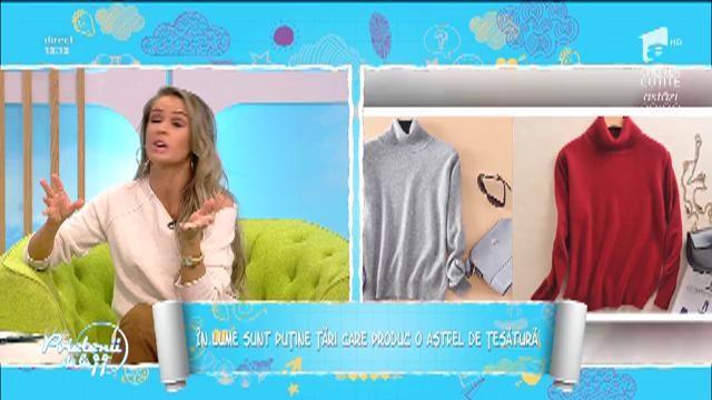 Caşmirul, secretul din garderobă! Cea mai nouă colecţie vestimentară semnată de Laura Hîncu