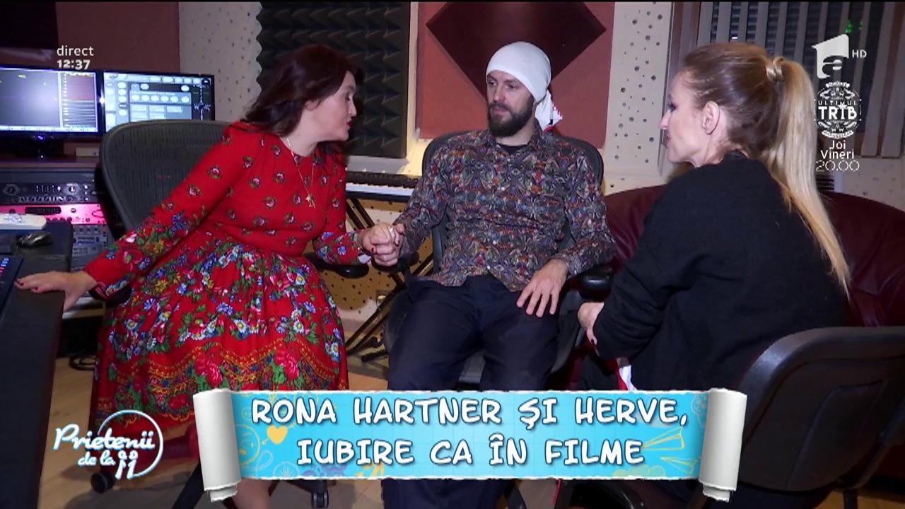 """Rona Hartner şi Herve, iubire ca în filme! """"Vrem să facem nunta pe plajă"""""""