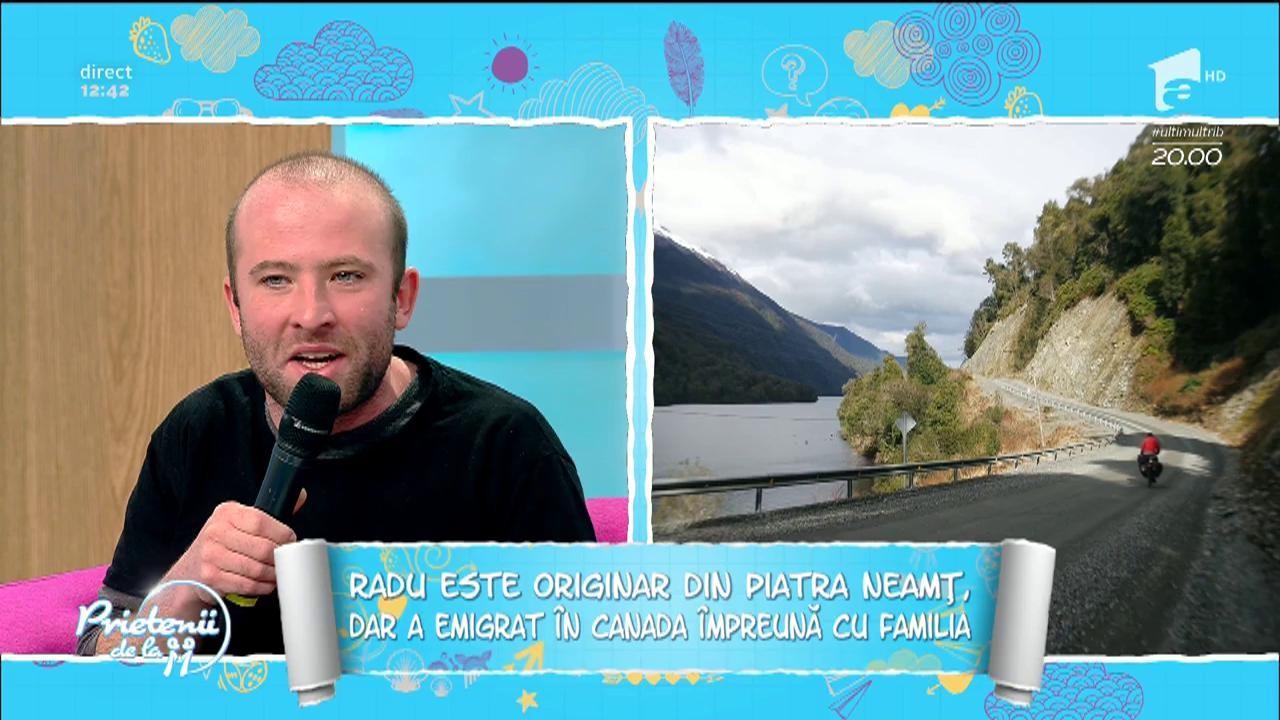 Un român a pedalat 35.000 kilometri prin lume! Ce dezvăluire incredibilă a făcut Radu Păltineanu