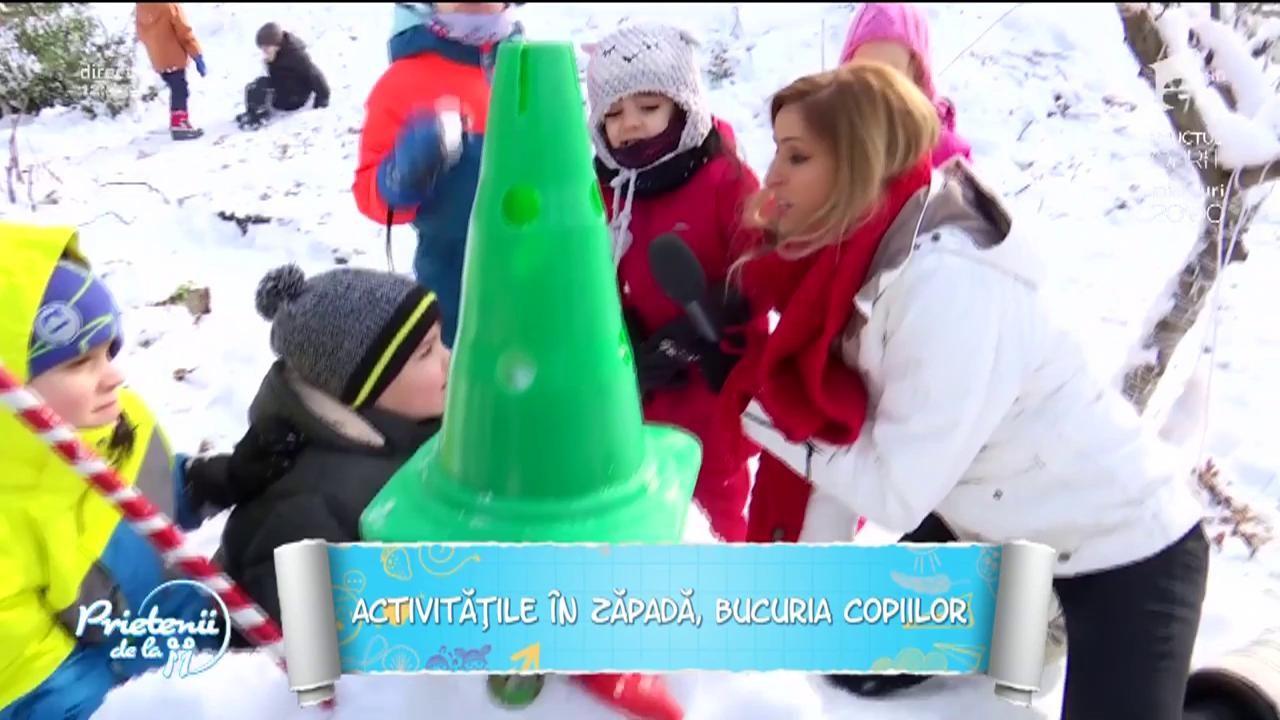 Activități distractive de iarnă pentru copii