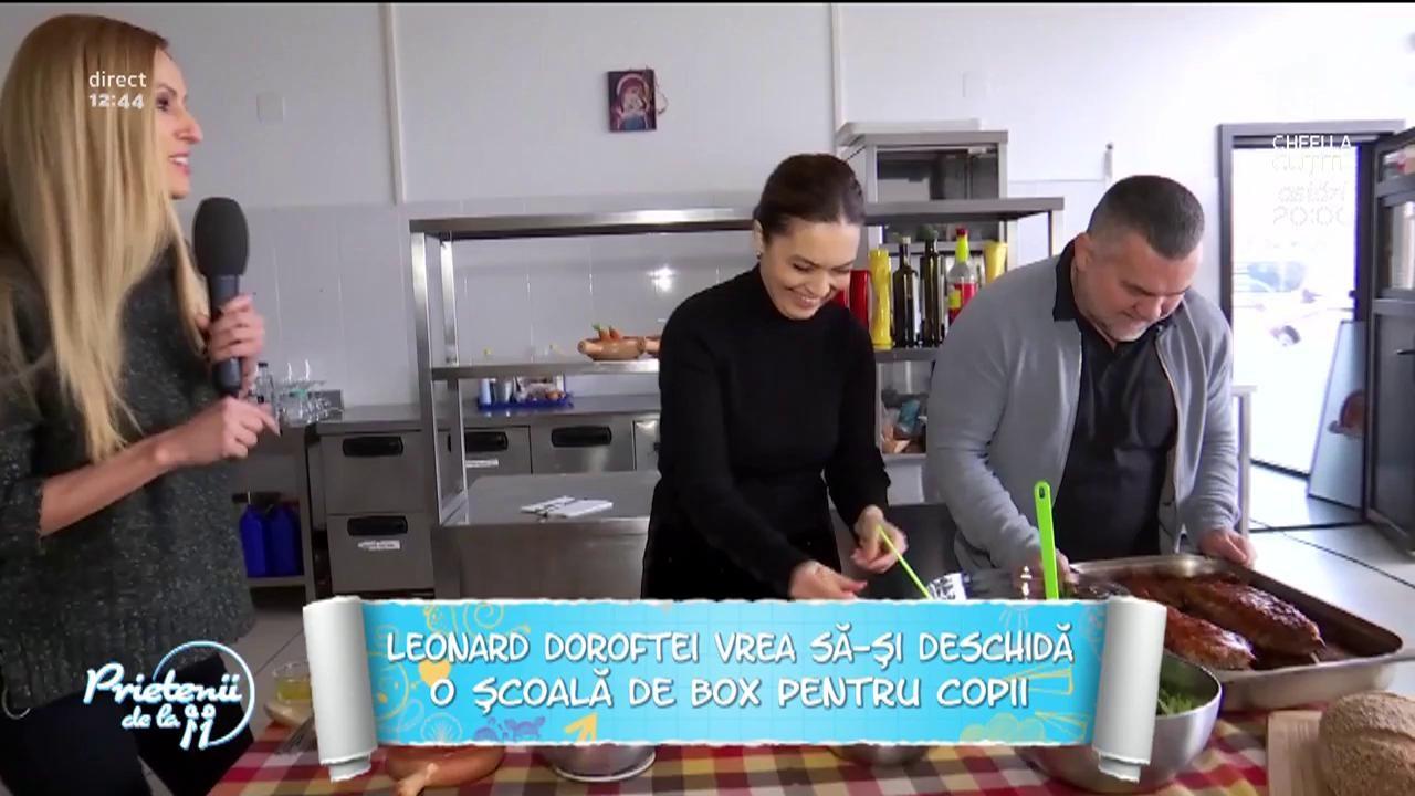 """Leonard Doroftei a intrat la dieta! Soția lui a dezvăluit totul: """"O să mănânce iarbă astăzi!"""""""