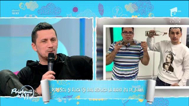 """Răzvan Popescu şi Flick, despre începuturile lor în radio: """"Am început să facem emisune fără să spunem nimănui"""""""