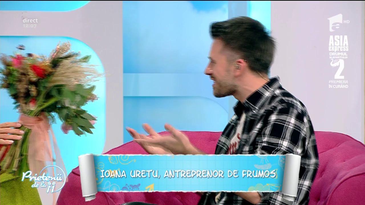 """Ioana Uretu, antreprenor de frumos: """"Despre flori am învățat singură"""""""