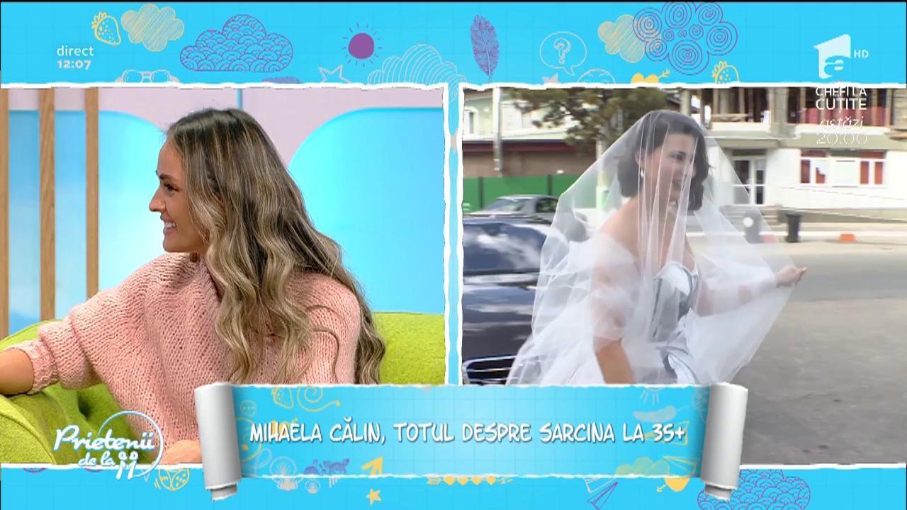 """Mihaela Călin, totul despre sarcina la 36 de ani: """"Nu am pofte"""""""