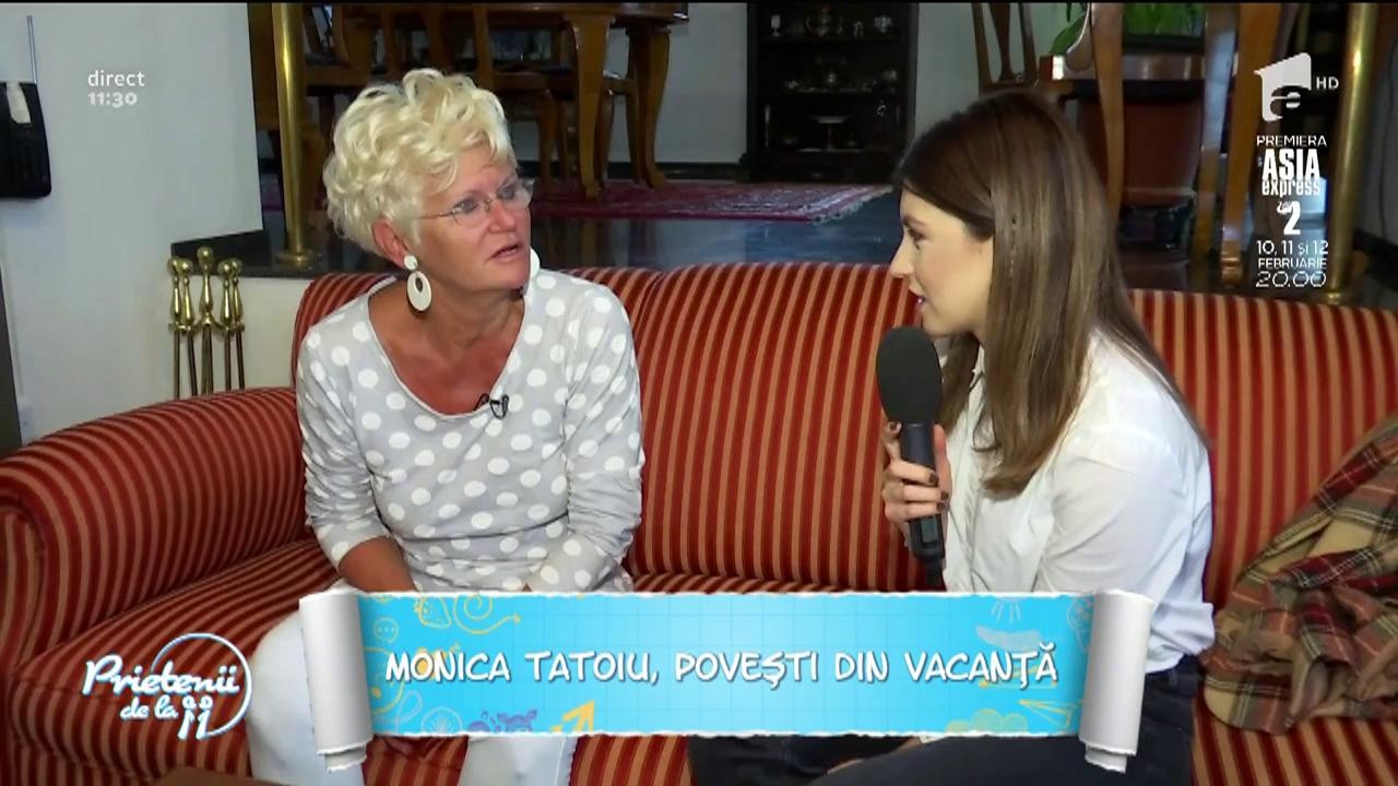 Monica Tatoiu, poveşti din vacanţă!