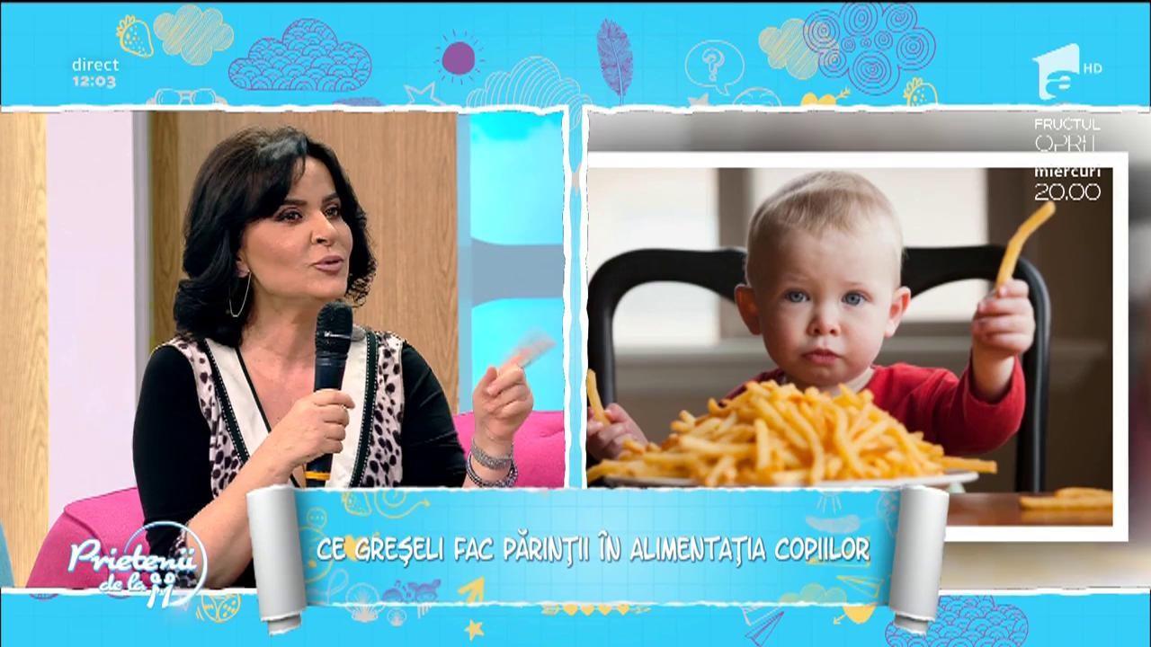 Greșelile părinților în alimentația copiilor