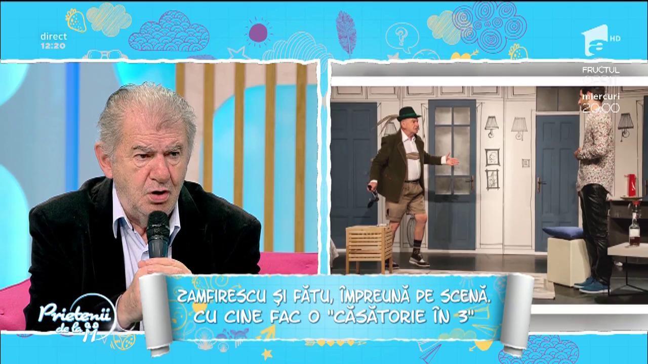 """""""Căsătorie în 3"""", o piesă românească cu Florin Zamfirescu, Gabriel Fătu și Călina Epuran"""