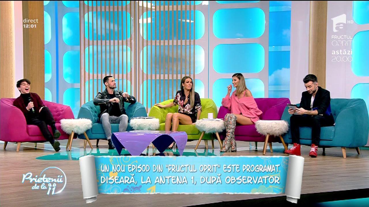 """Petru Păun și Bogdan Iancu dezvăluie detalii picante din serialul """"Fructul oprti""""! """"Când să ies din piscină am simțit cum îmi alunecă boxerii..."""""""