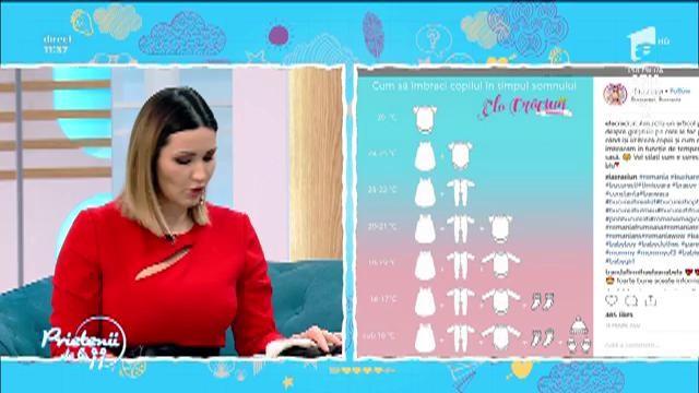 """Ela Crăciun, despre cum să-ți îmbraci copilul în fruncție de temperatură: """"Nu îmi înfofolesc copiii"""""""