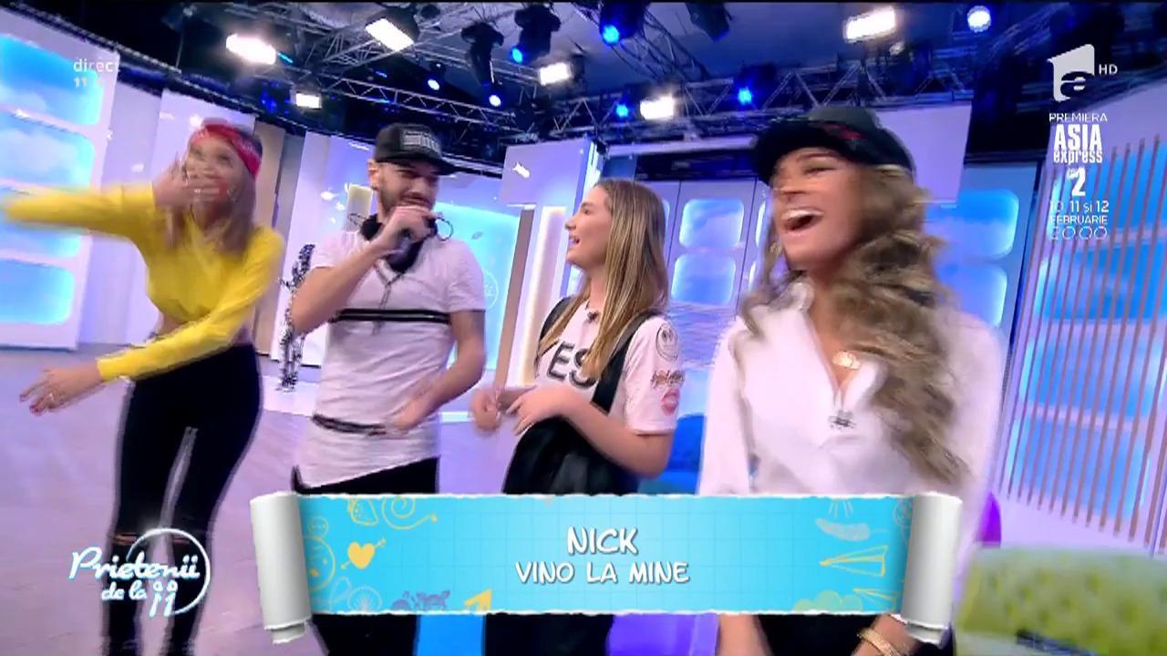 """Live! Nick - """"Vino la mine"""""""