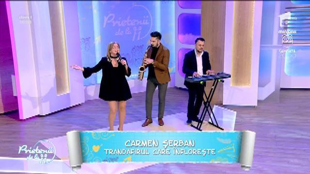 """Premieră! Carmen Șerban - """"Trandafirul care înflorește"""""""