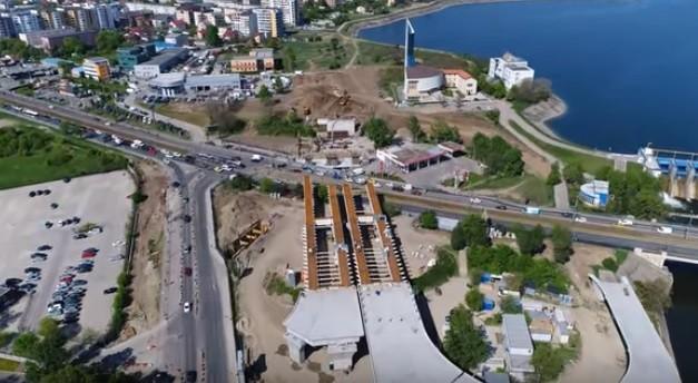 Podul Ciurel a fost finalizat după 14 ani. De sâmbătă se ...  |Podul Ciurel