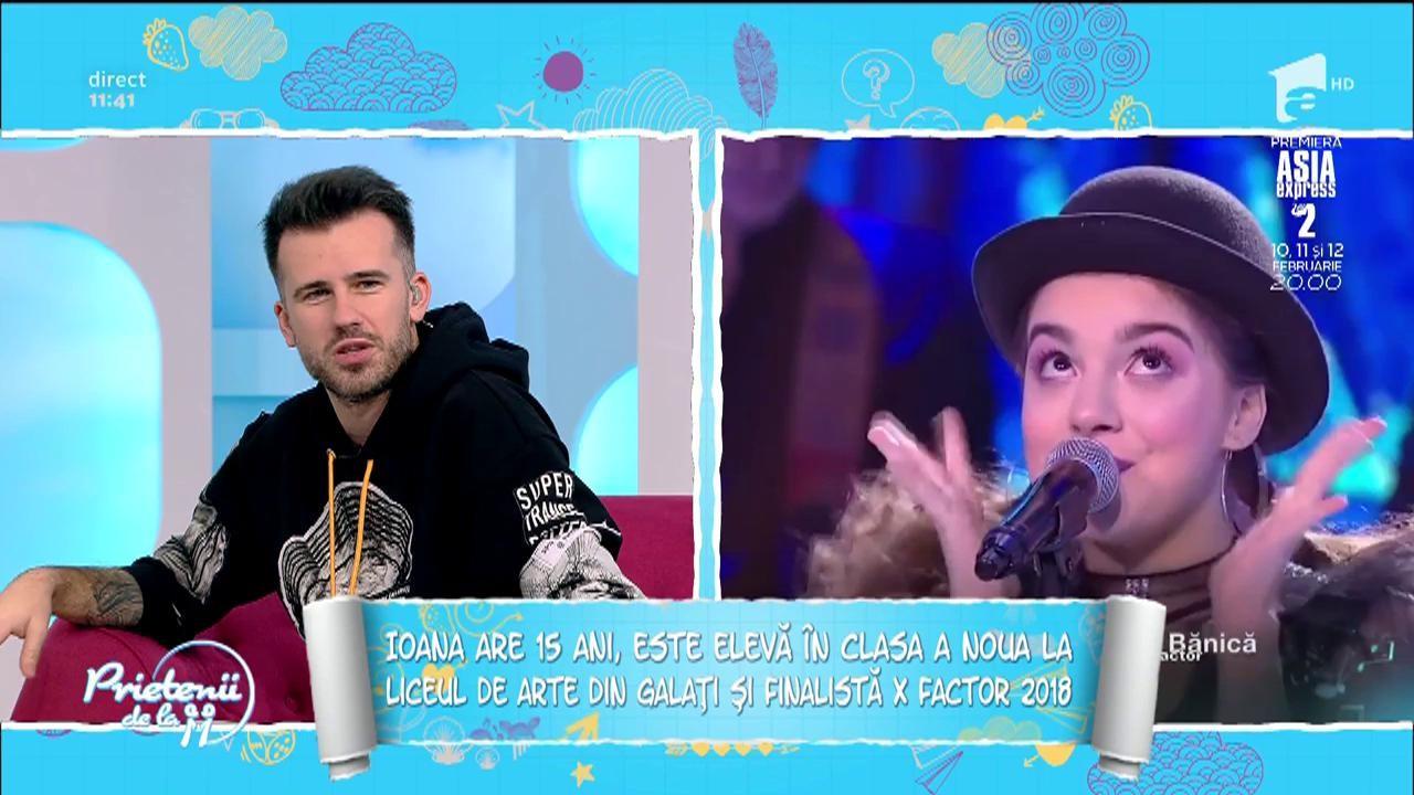 """Ioana Bulgaru, colegă de scenă cu Florin Ristei! """"A urcat cu noi pe scenă și, fără pic de rușine...a cântat cu noi!"""""""