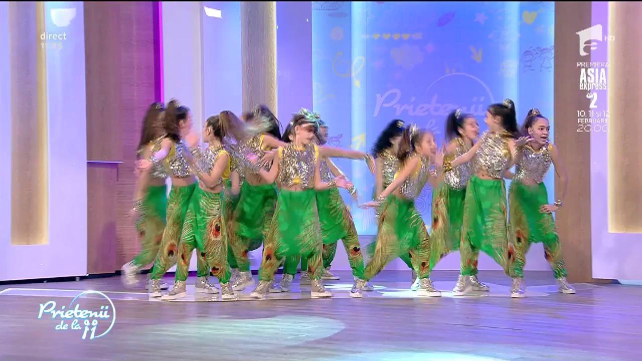 Trupa AS, moment senzaţional de dans