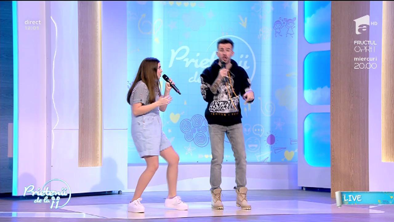 """LIVE! Ioana Bulgaru, duet de senzaţie cu Florin Ristei - """"Rather be"""""""