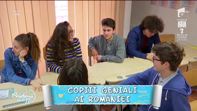Copiii geniali ai României! Au performanţe şi dincolo de şcoală