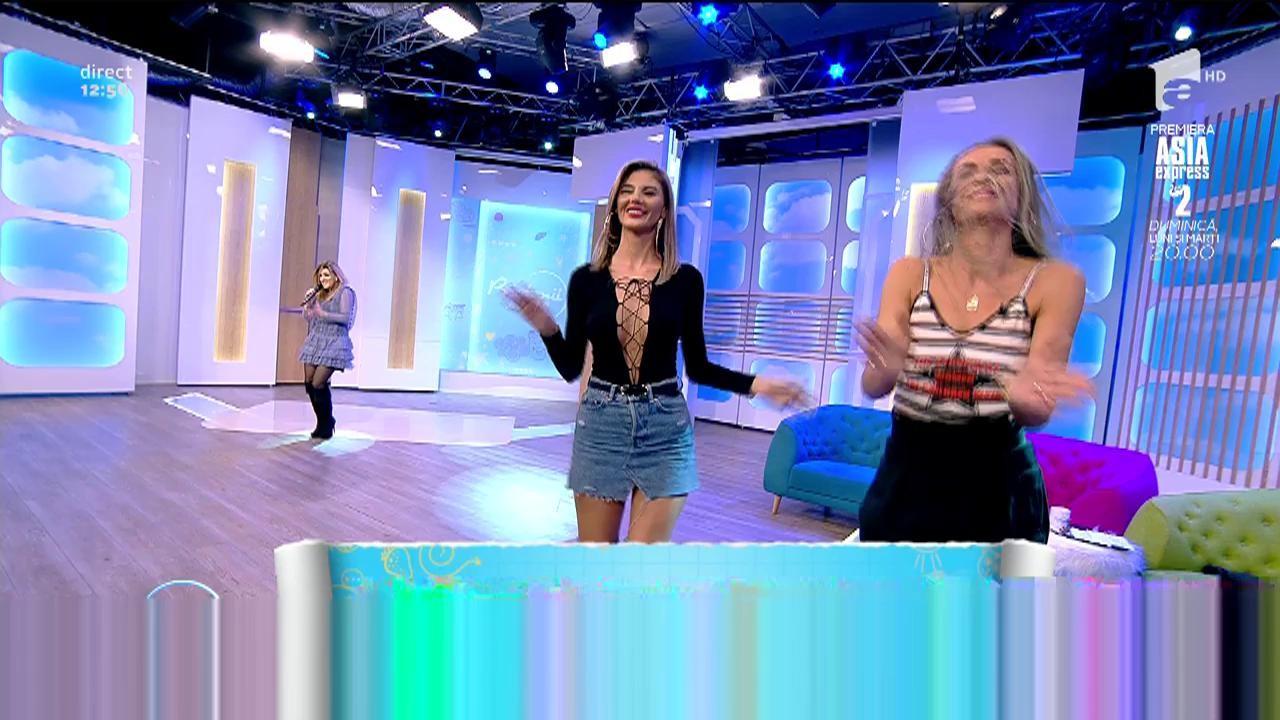 """Diana Bişinicu cântă melodia """"Ta Potiria Mas Psila"""""""