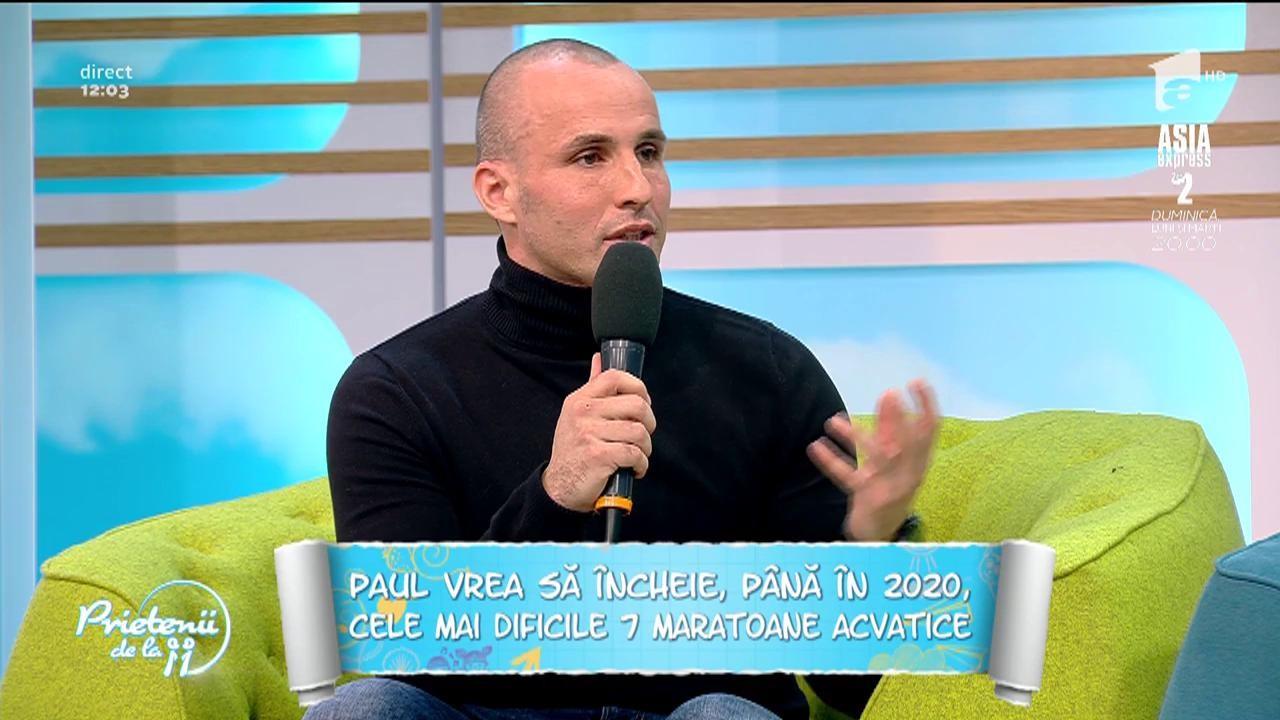 """Paul Georgescu, românul care rezistă cel mai mult în apă rece ca gheața: """"Acasă aștept să vină apa caldă. Nu fac dușuri reci, ci foarte calde"""""""
