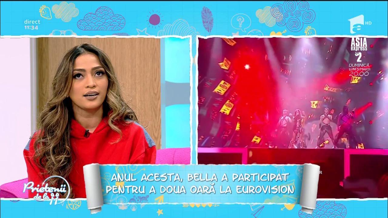 Bella Santiago, de la X Factor la Eurovision
