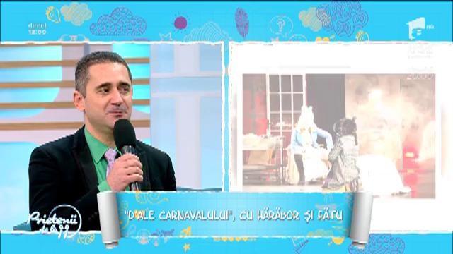 """""""D'ale carnavalului"""", cu Gabriel Fătu și Manuela Hărăbor."""