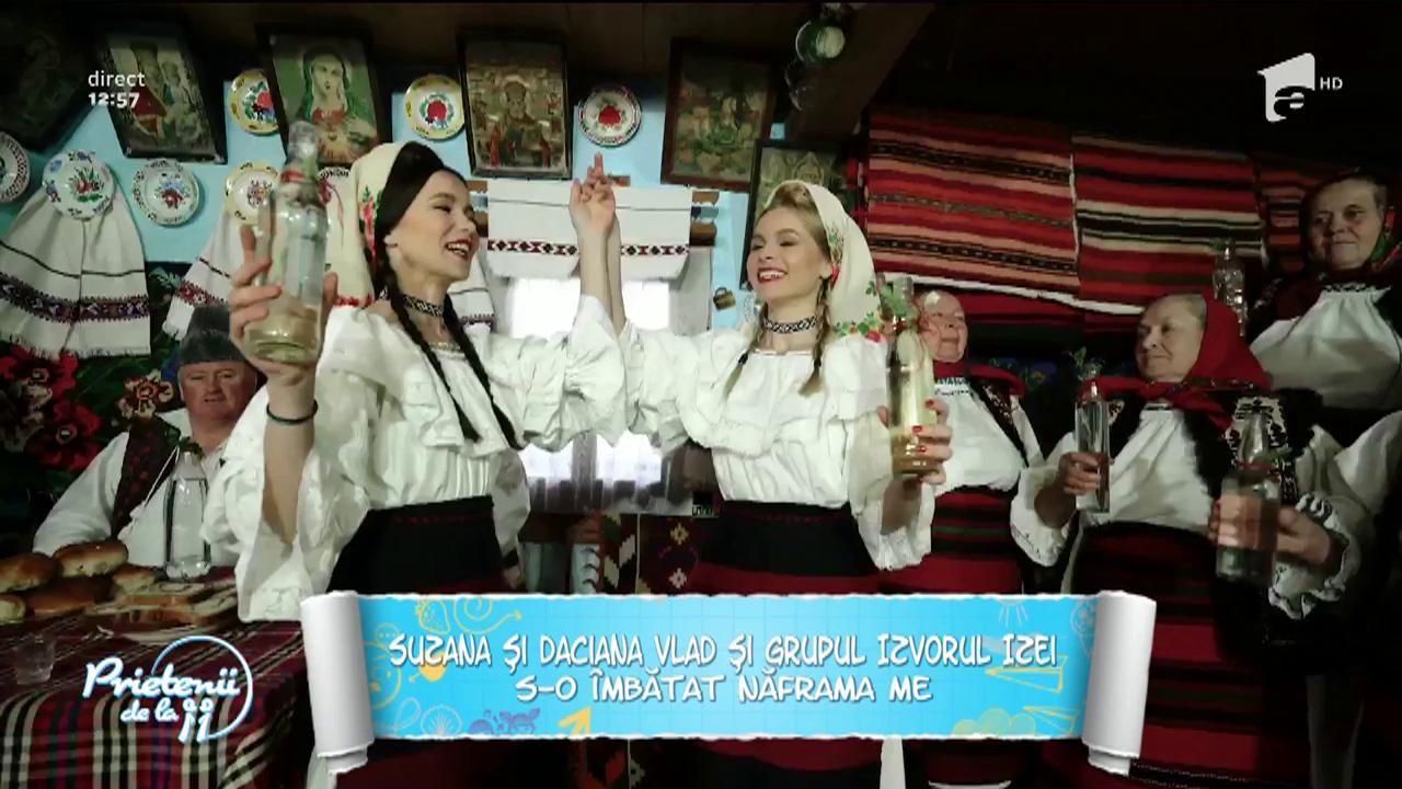 Suzana și Daciana, gemenele folclorului maramureșean