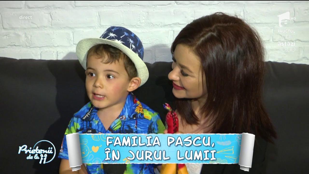 Familia Pascu, călătorie în jurul lumii