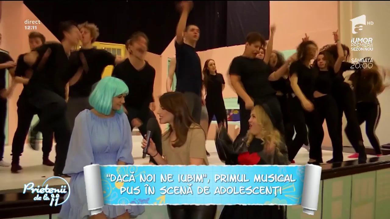 """""""Dacă noi ne iubim"""", primul musical pus în scenă de adolescenţi"""