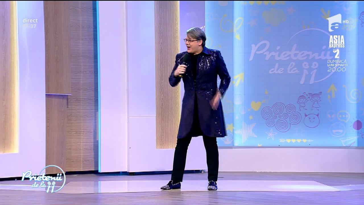 """Paul Surugiu Fuego cântă, la Prietenii de la 11, piesa """"Nu nunt singur"""""""
