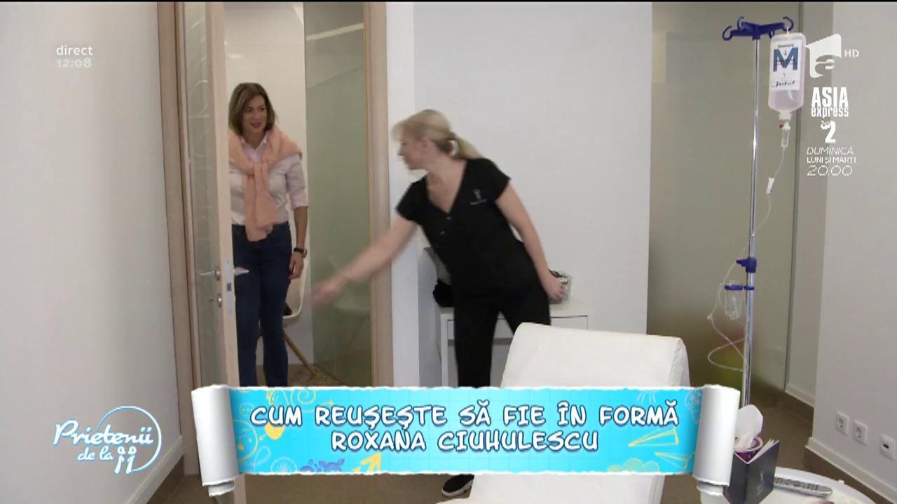 """Cum reușește să fie în formă Roxana Ciuhulescu: """"Soțul meu mă ajută enorm în tot ceea ce fac"""""""