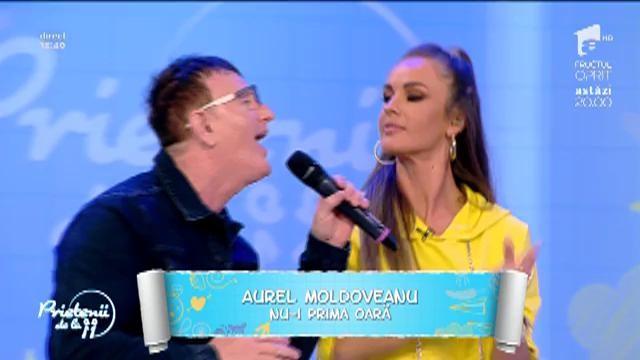 Live. Aurel Moldoveanu - Nu-i prima oară