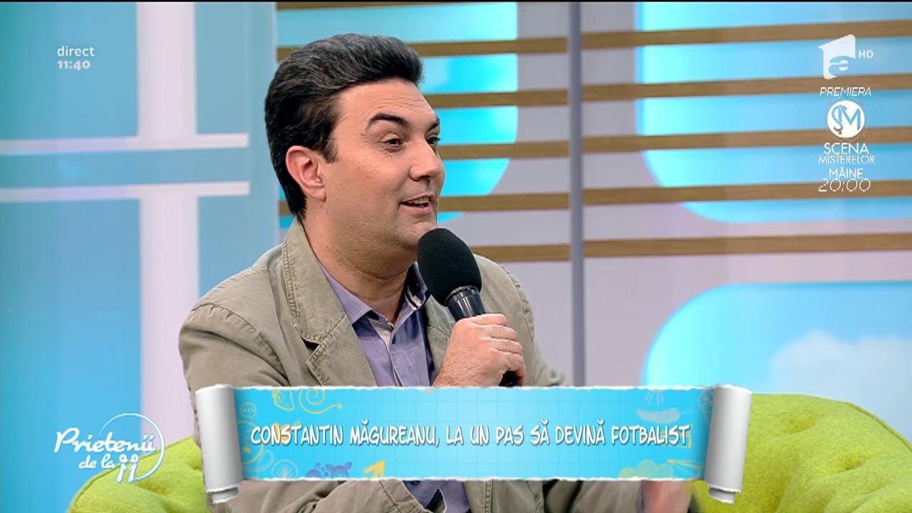 """Cântărețul Constantin Măgureanu, cel mai mândru tată. Antonio, fiul lui, îi calcă pe urme: """"Vreau să fiu ca tati și nu vreau să-l dezamăgesc"""""""