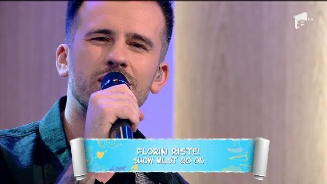 """Ultima interpretare muzicală a lui Florin Ristei de la Prietenii de la 11. Artistul a cântat live melodia """"The show must go on"""""""
