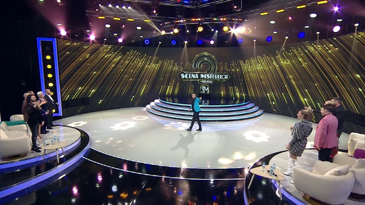 """Monica Anghel, Matteo, Andreea Bănică și Marcel Pavel intră în jocul măștilor, la """"Scena misterelor"""""""