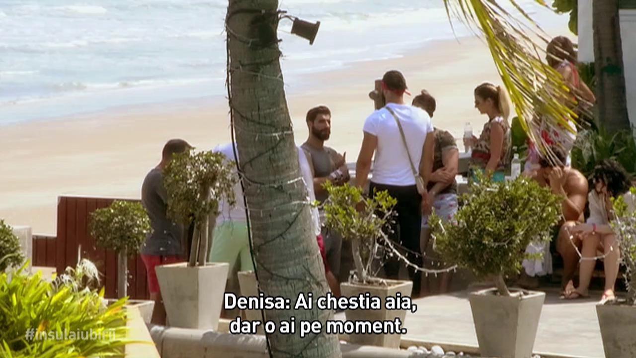 """Denisa și Geanina de la Insula Iubirii, la cuțite din cauza lui Andi: """"Văd pe fața ta că ești supărată!"""""""