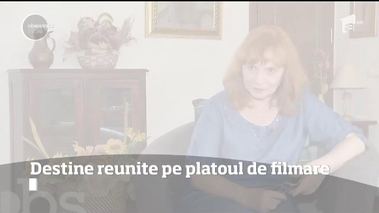 Marian Râlea și Ana Ciontea, destine reunite pe platoul de filmare al serialului Sacrificiu